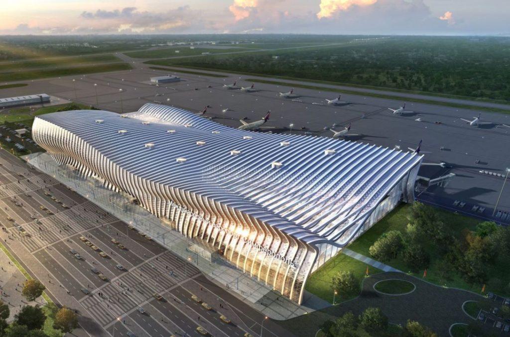 Макет Нового аэропорта в Симферополь